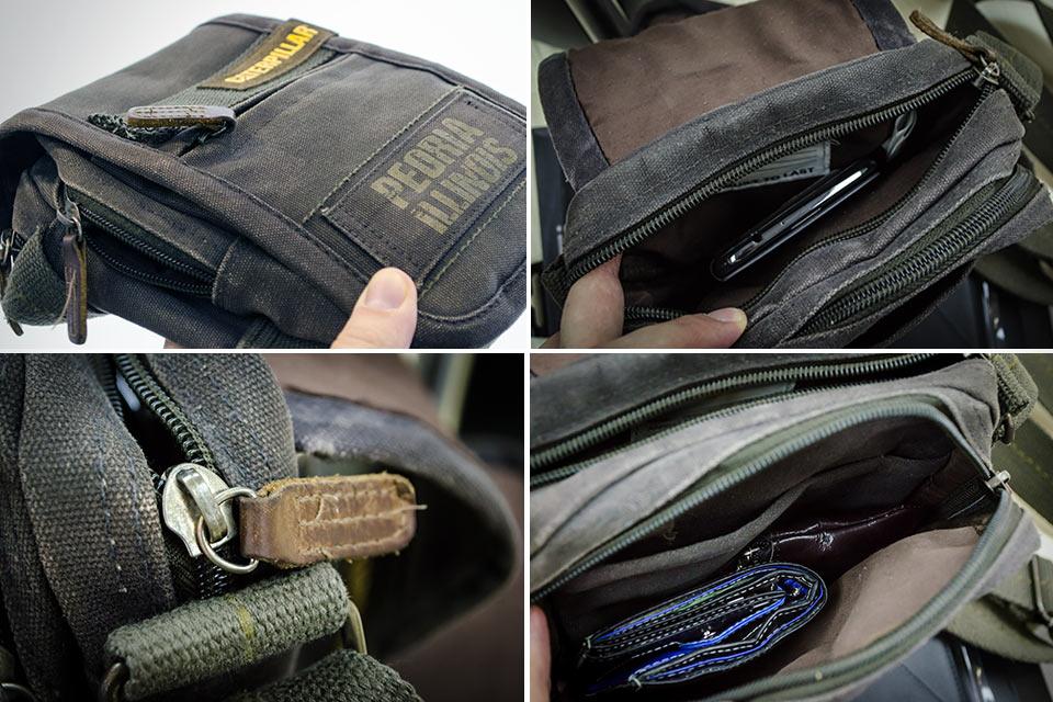 Маленькая повседневная сумка Caterpillar