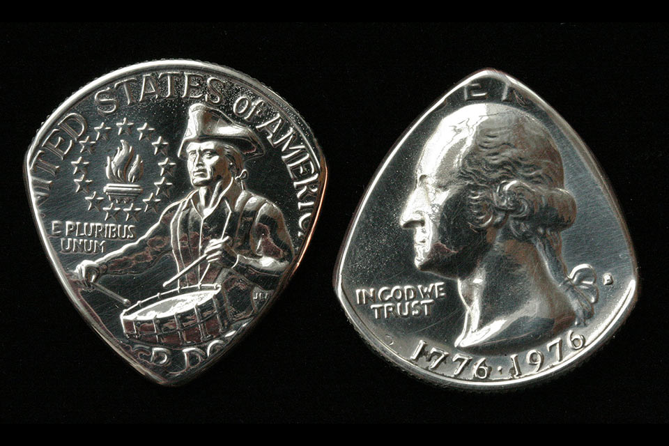 Медиаторы Coin Guitar Pick