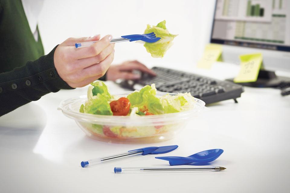 Офисные приборы для еды Dine Ink Pen