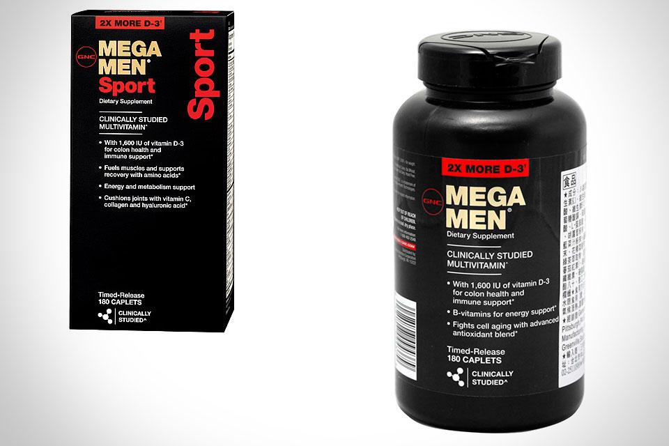 Спортивные витамины GNC Mega Men Sport
