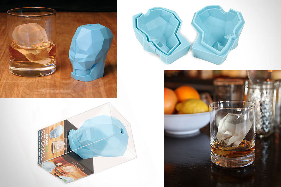 Форма для льда Skull Ice Cube