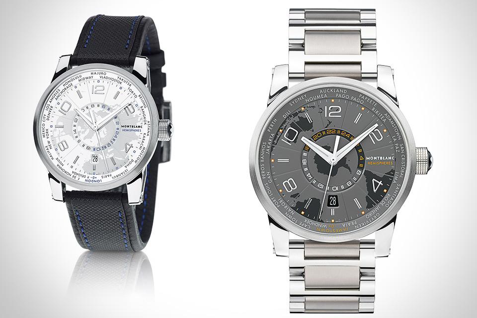 Часы Montblanc TimeWalker Hemisphere