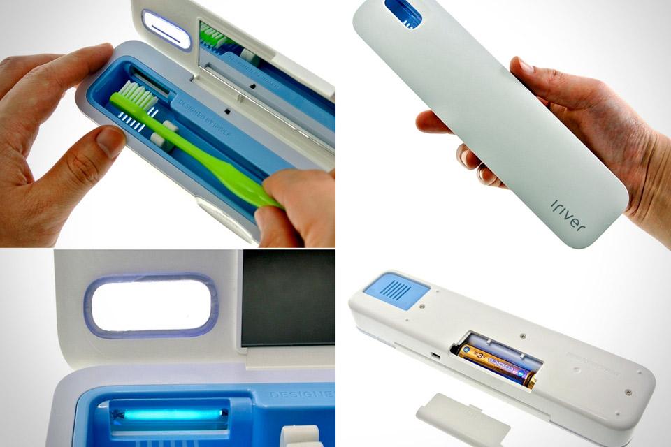 iRiver Blank. Ультрафиолетовый дезинфектор для зубных щеток
