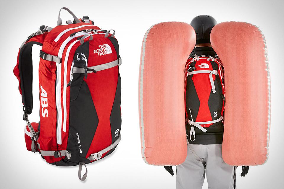 Рюкзак The North Face Patrol ABS с подушкой безопасности