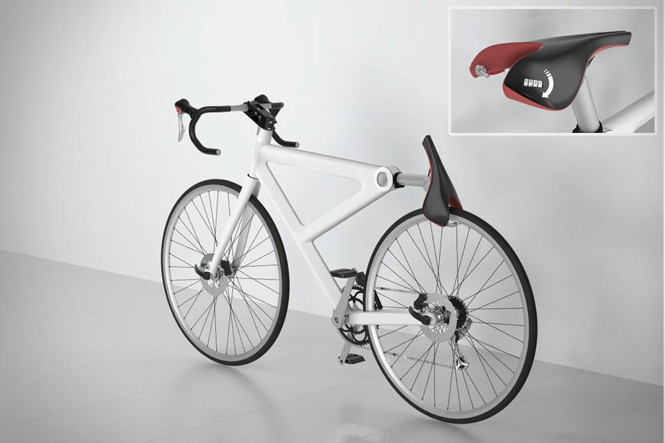 Велосипедное сиденье-замок Saddle Lock