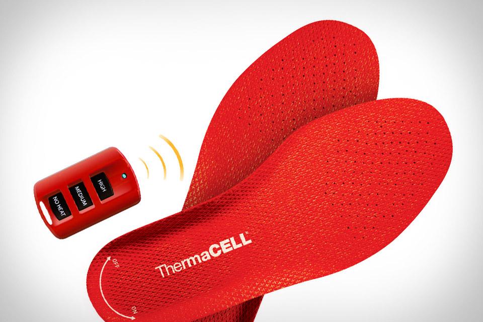 Стельки с подогревом ThermaCell