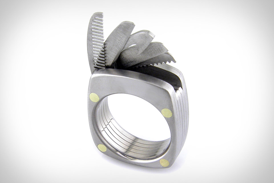 Utility. Титановое кольцо могущества