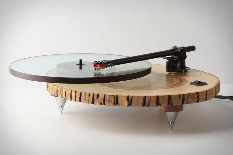 Проигрыватель виниловых пластинок Audiowood Barky