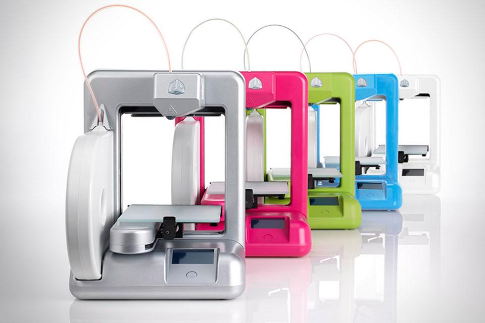 Бытовой 3D-принтер Cube