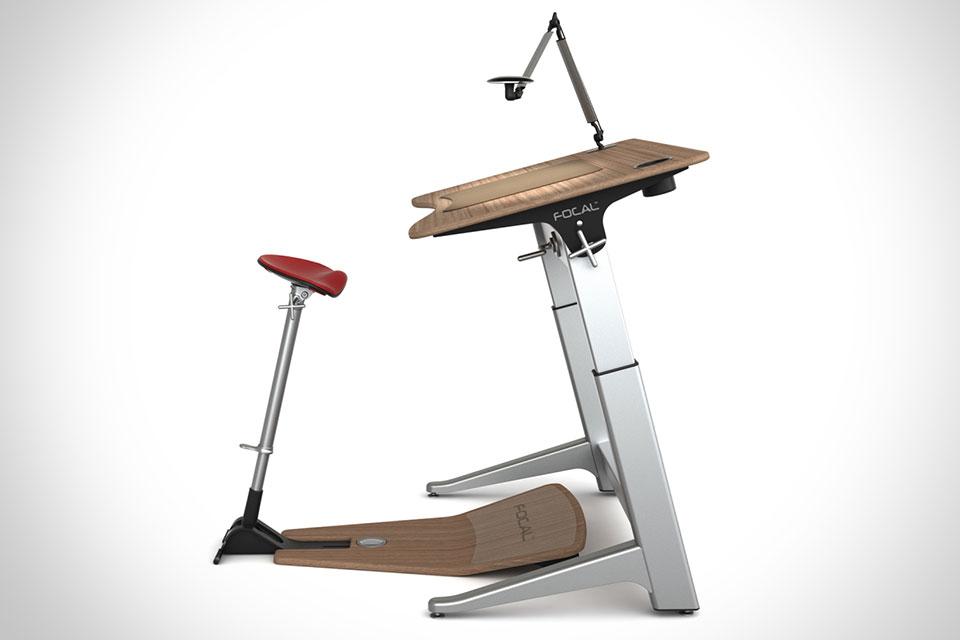 Рабочий стол Focal Upright Furniture Locus