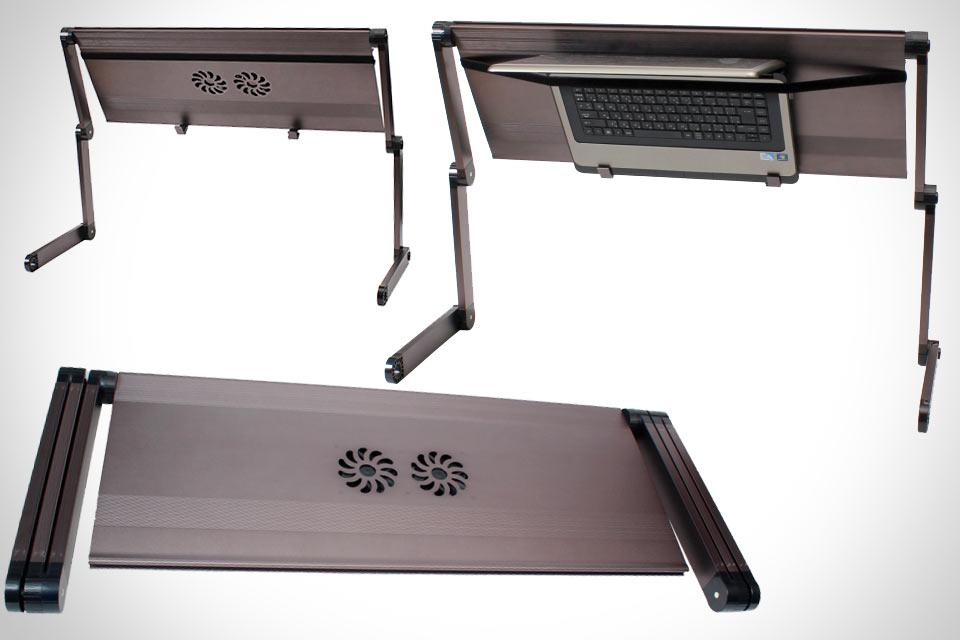 Складная подставка Thanko GORODE80 для работы с ноутбуком лёжа