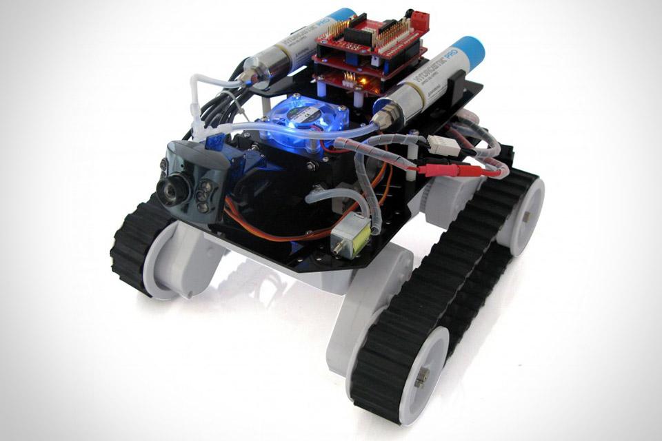 Танк H-ROVER на водородном топливе
