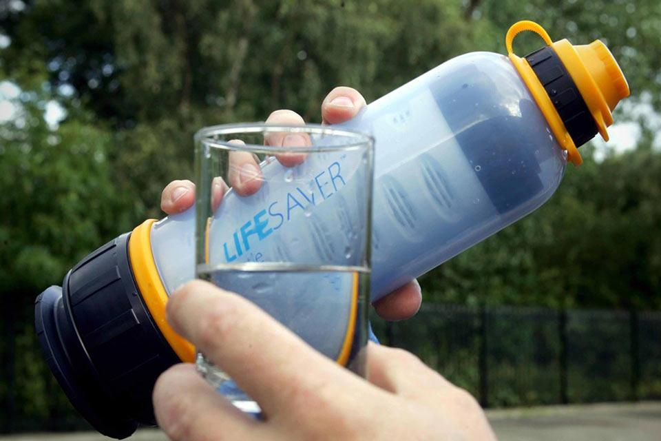 Портативный суперфильтр для воды Lifesaver Bottle