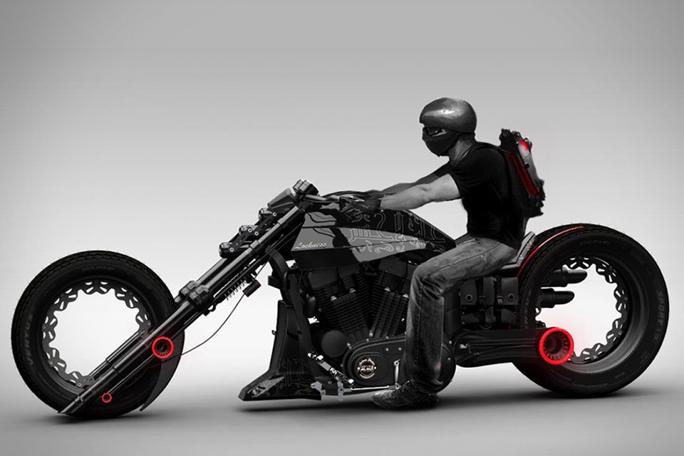 мотоциклы чопперы фото