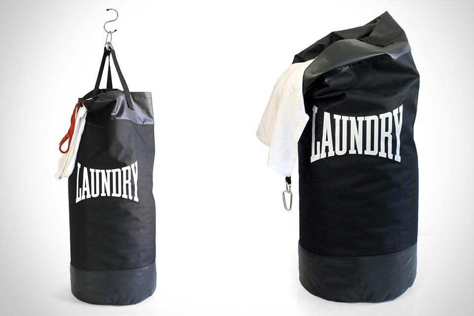 Боксерская груша/сумка для грязного белья Suck UK Punching Laundry Bag