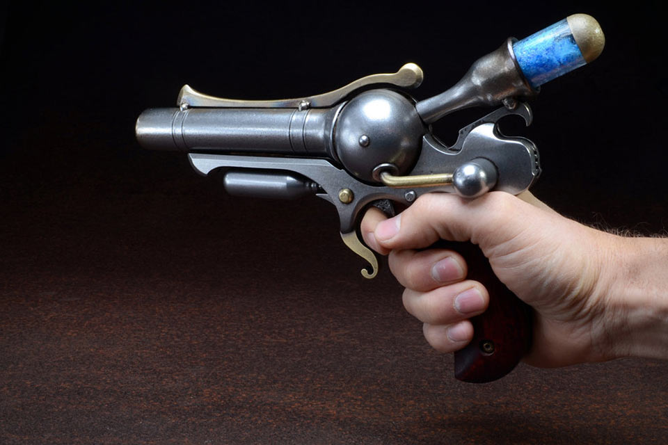 Плазменный револьвер S-76 Ampratite