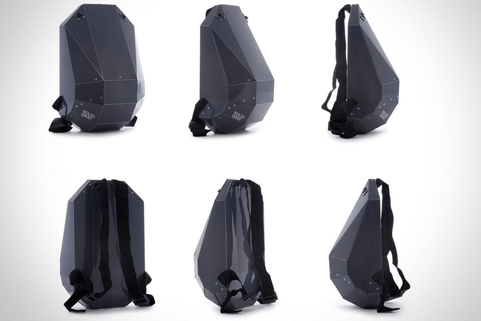 Жесткий рюкзак Solid Gray Hardshell