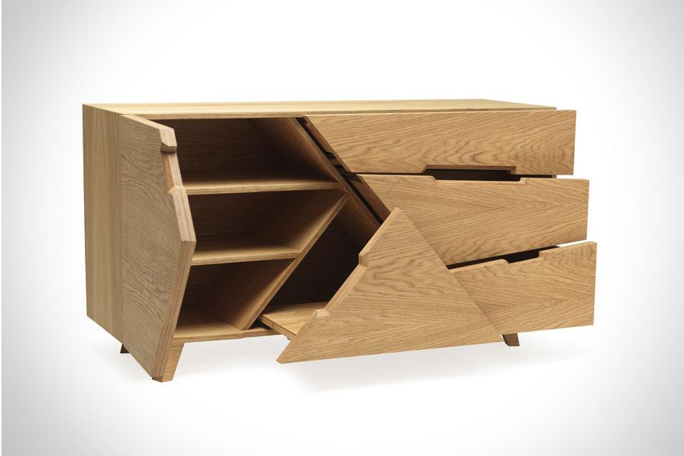 Комод-головоломка Tangram Sideboard