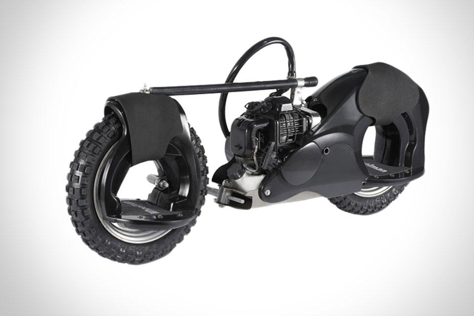 Скейт с бензиновым мотором Wheelman