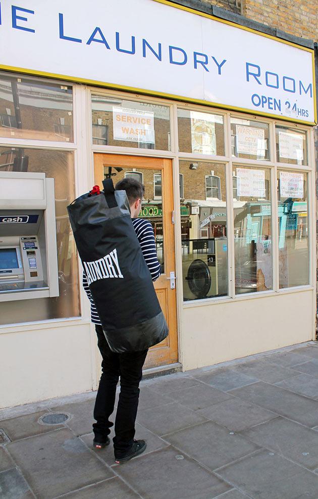 05-Punching-Laundry-Bag