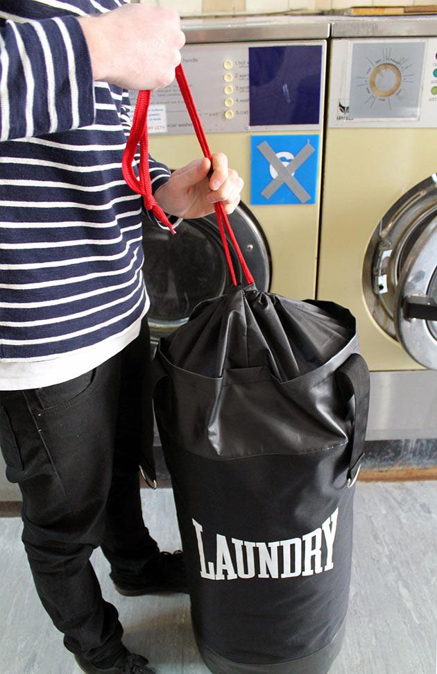 07-Punching-Laundry-Bag