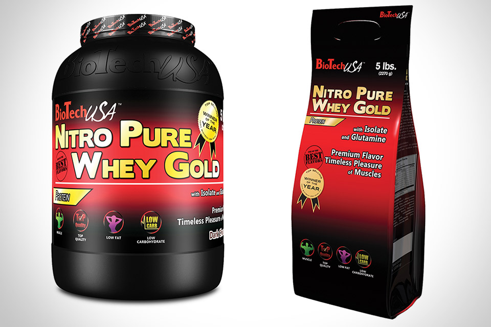 Протеин BioTech USA Nitro Pure Whey Gold