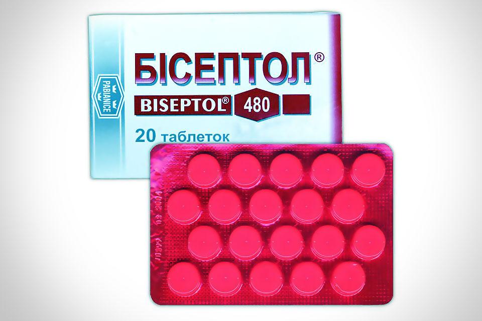 Антибактериальный лекарственный препарат Бисептол