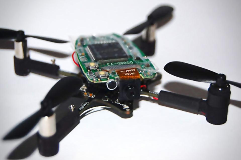 Радиоуправляемый квадрокоптер Crazyflie Nano Quadcopter