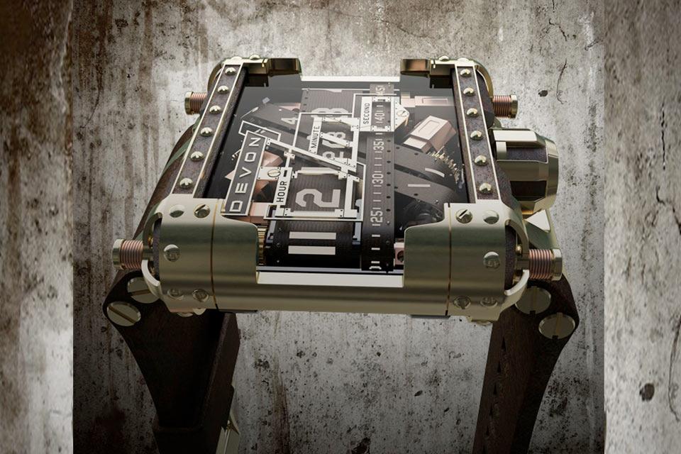 Стимпанк-часы Devon Tread Limited Edition