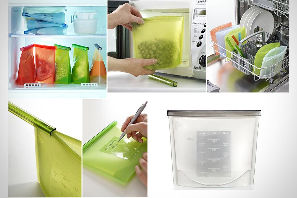 Силиконовый контейнер для продуктов Lekue Fresh Bag