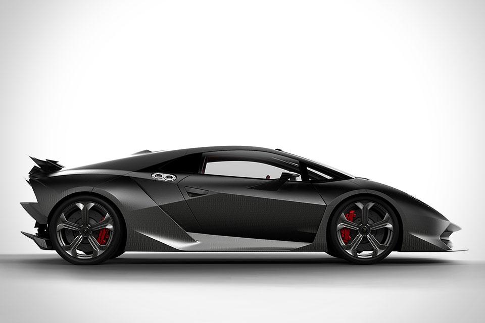 Суперкар Lamborghini Sesto Elemento
