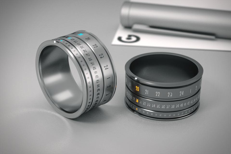 Кольцо-часы Ring Clock