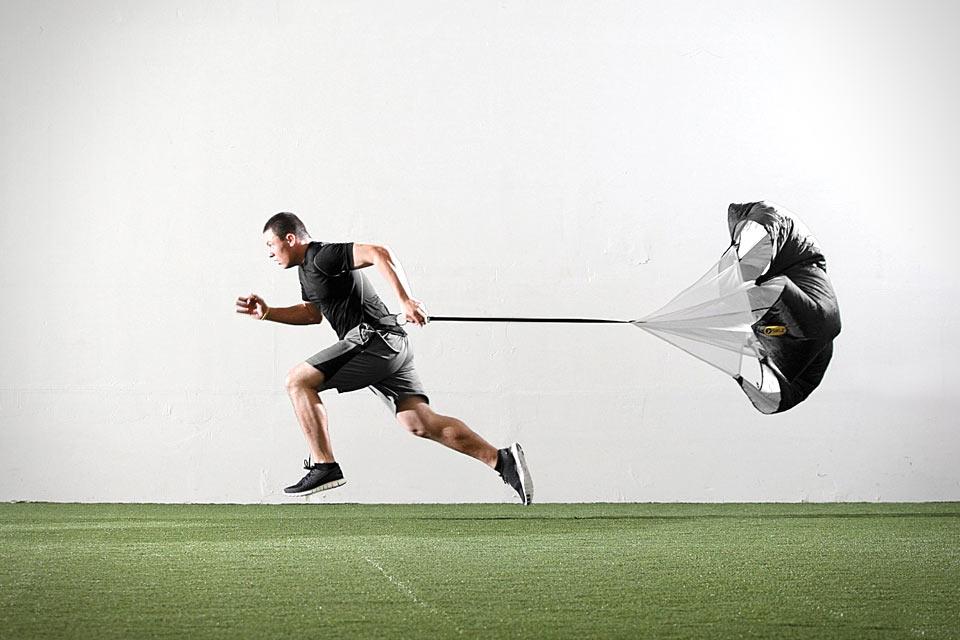 Парашют для тренировки ног Speed Resistance Training Parachute