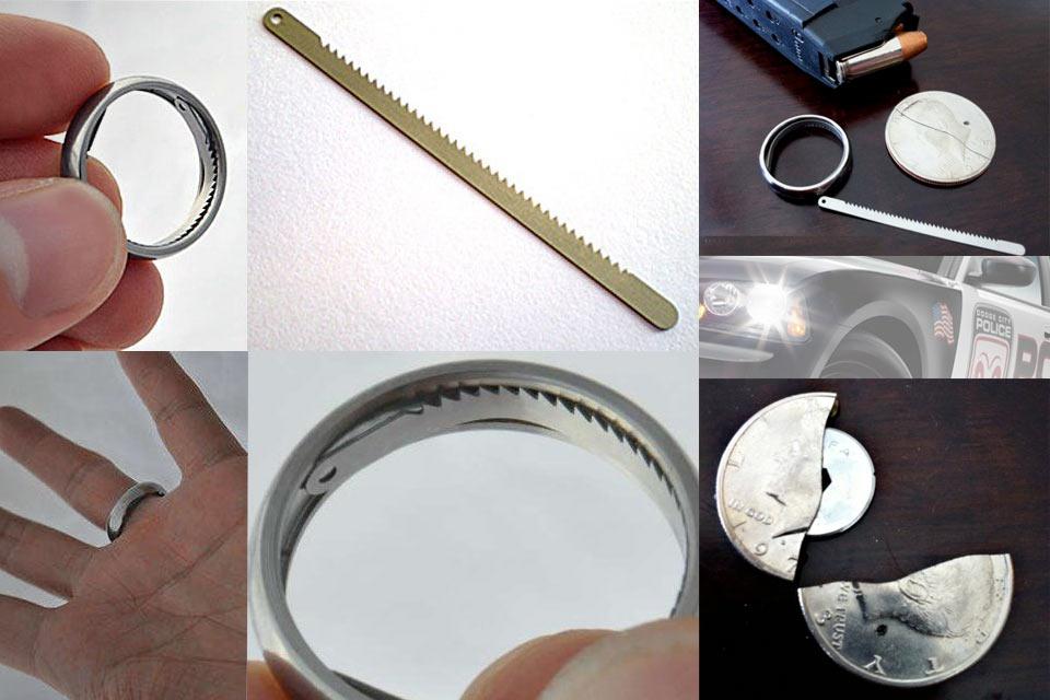 Кольцо для побега Titanium Escape Ring