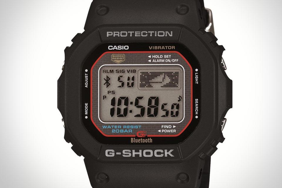 Часы Casio G-Shock 5600AA с поддержкой iPhone