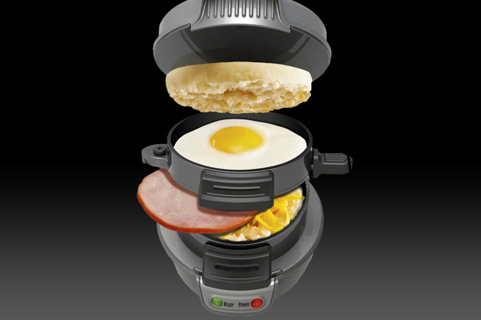 Бутербродница Hamilton Beach Breakfast Sandwich Maker