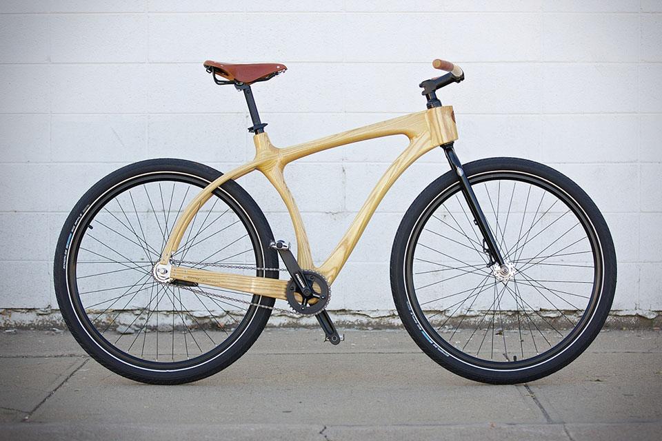 Деревянный велосипед Connor Wood Bicycle