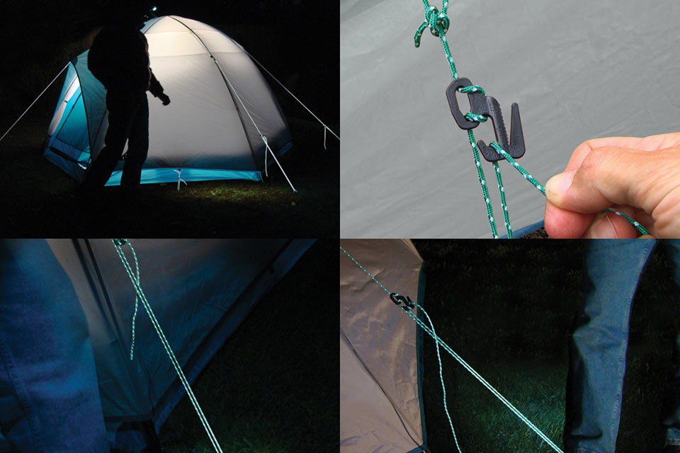 Туристическая веревка с отражателем Reflective Rope