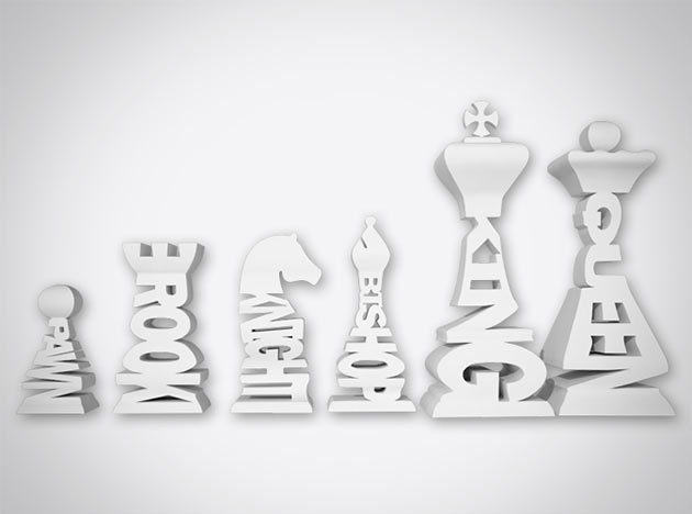 04-Typographical-Chess-Set