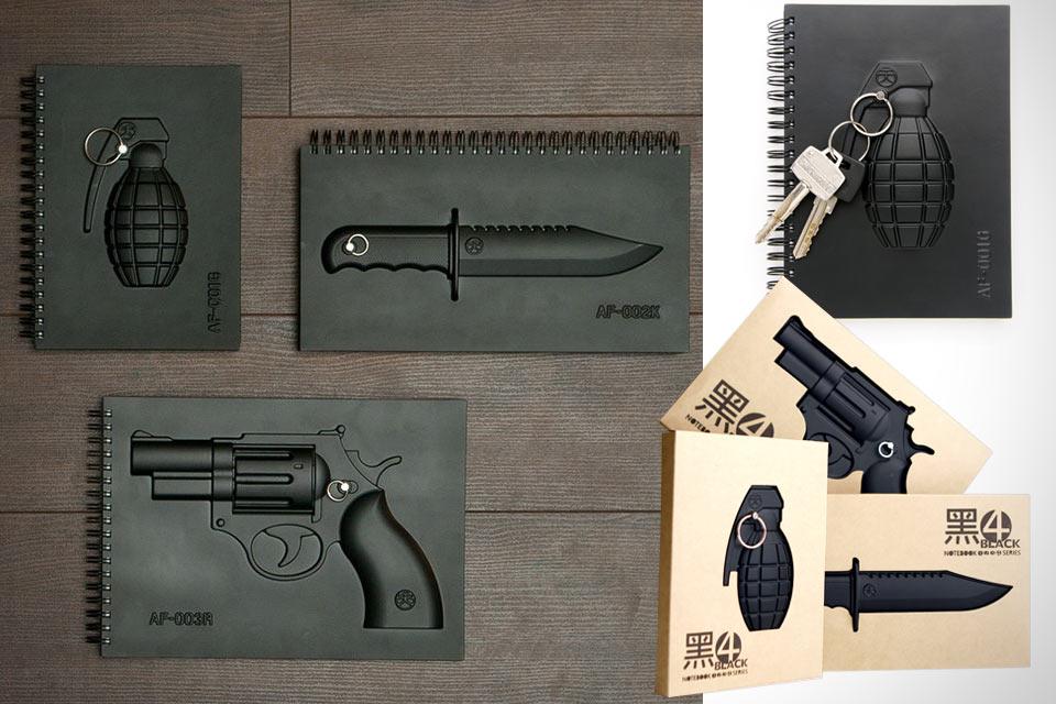 Оружейные блокноты Armed Notebooks