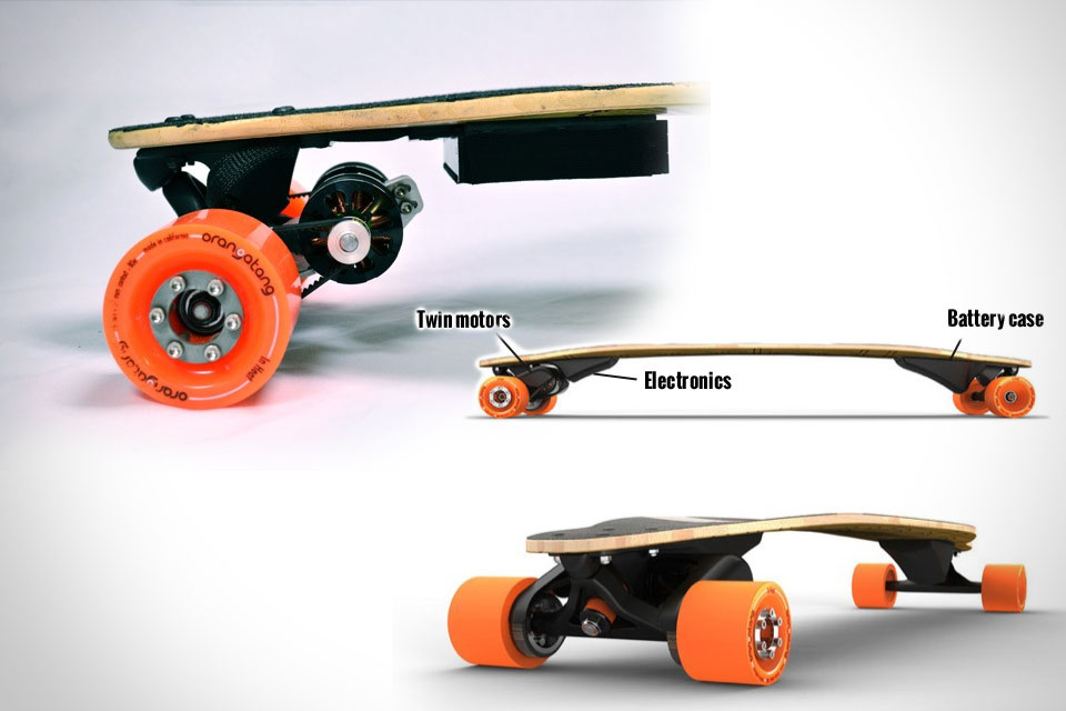 Электрический скейт Boosted Board