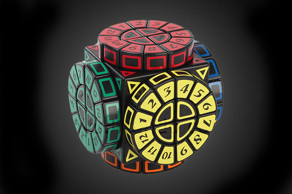 Головоломка Roulette Wheel IQ Cube