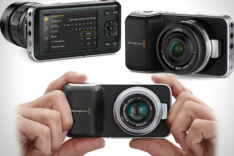 Кинокамера Blackmagic Pocket