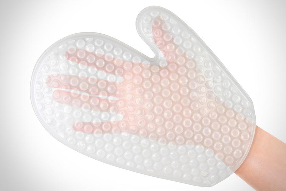 Силиконовая прихватка Bubble Wrap Oven Mitt