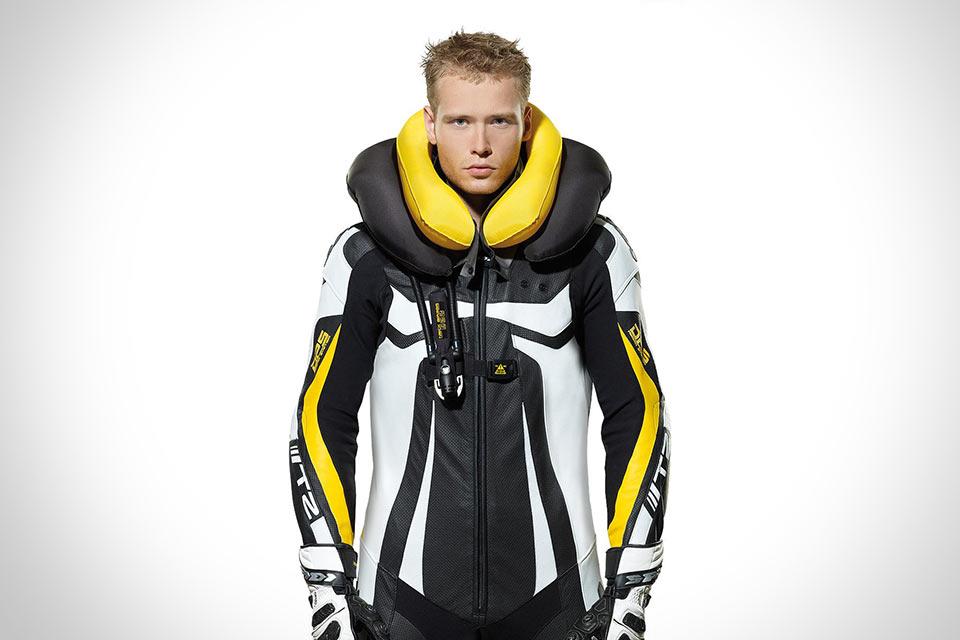 Мотоциклетный костюм с подушкой безопасности Spidi Neck DPS Airbag Vest