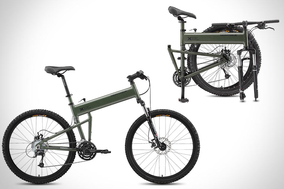 Тактический велосипед Paratrooper