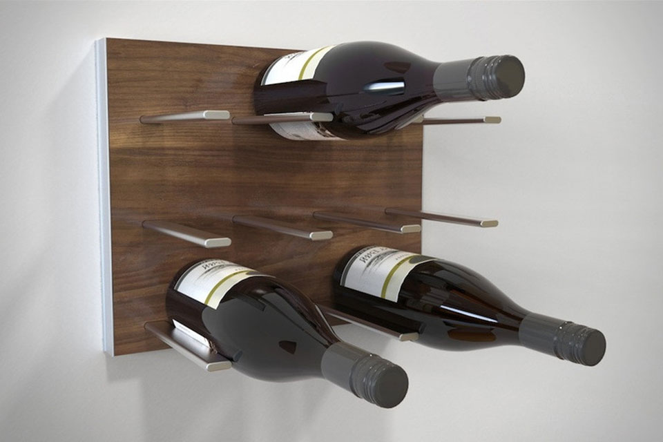Винная полка STACT Modular Wine Wall