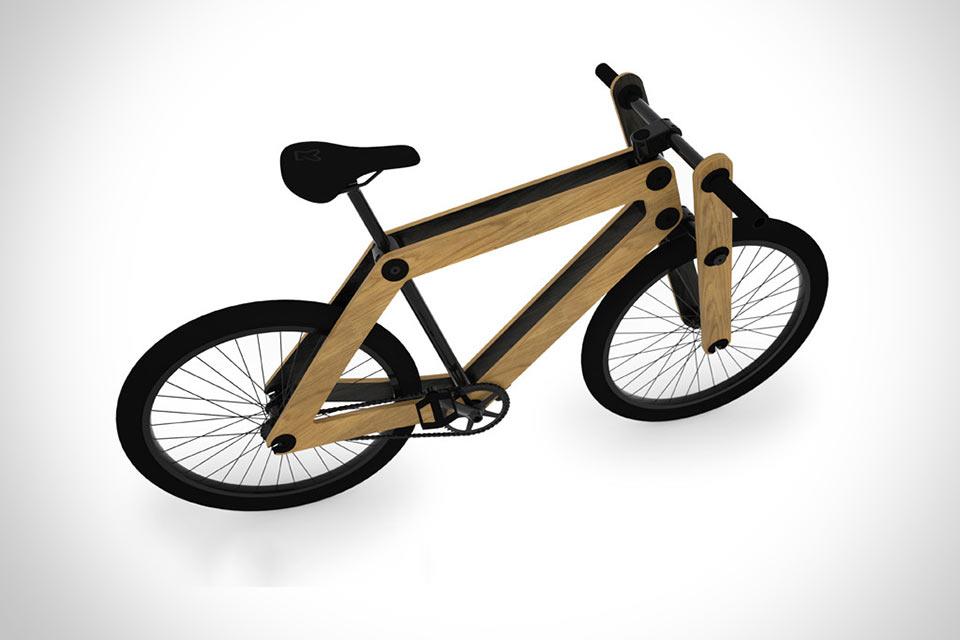 Фанерный велосипед Sandwichbike