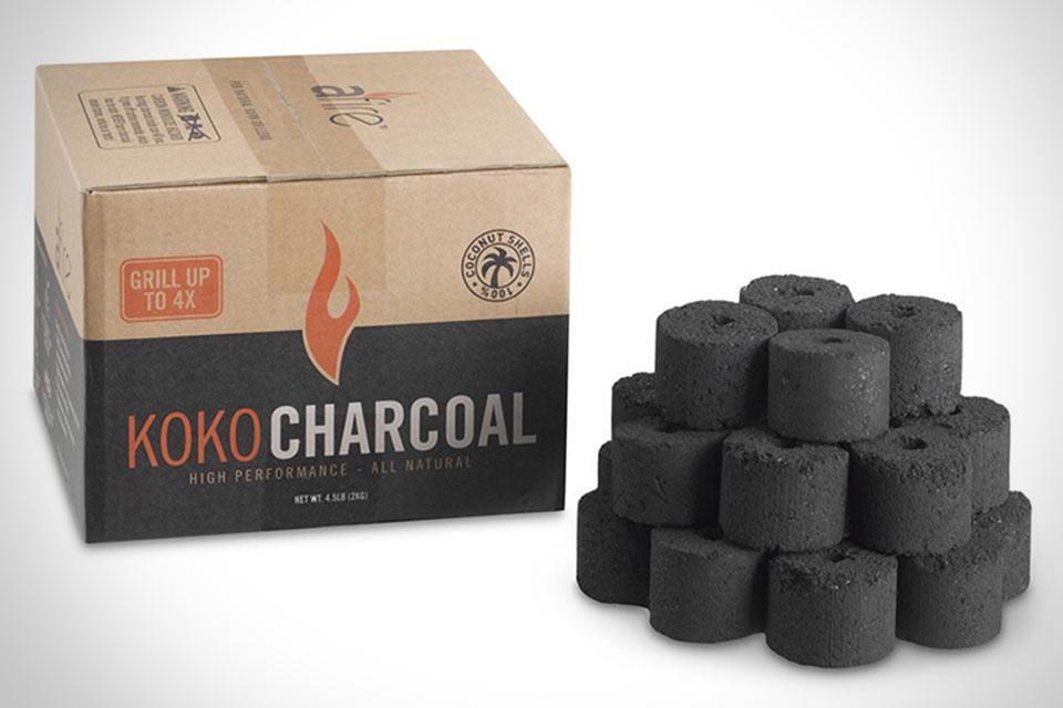 Уголь для шашлыков и гриля Afire Koko