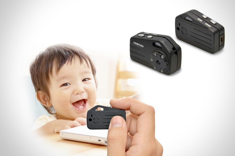 Самая маленькая камера в мире CAM CHOBi Pro3